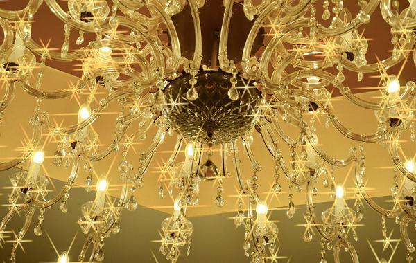 lampa sufitowa kryształowa